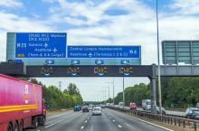 motorway gantries