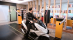Motorcycle and scooter parking machine face scanner