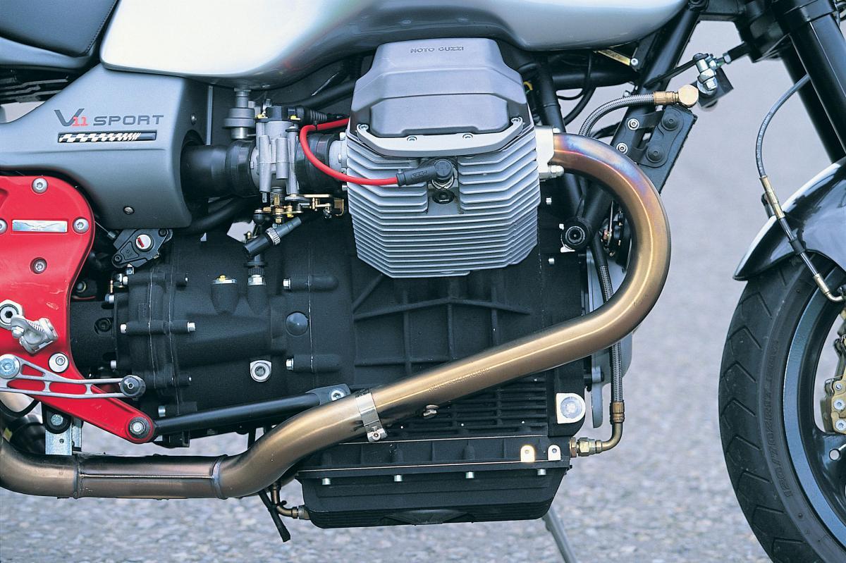 MOTO GUZZI V11 Le Mans Tenni specs - 2002, 2003