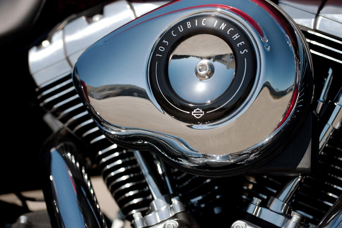 "103"" engine standard on 2012 Harley big twins | Visordown"