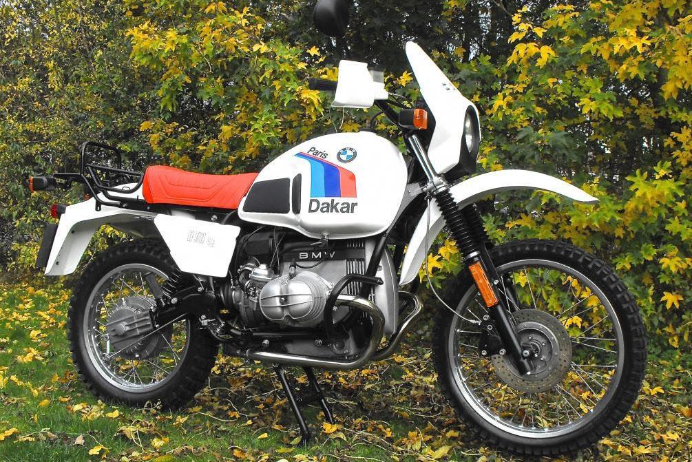 1983 Bmw R80g S Dakar Visordown