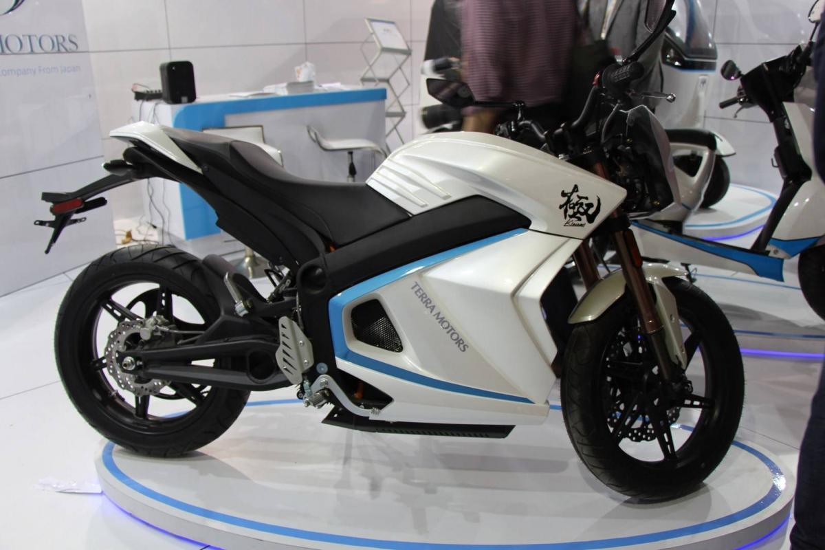 Electric Sports Bike >> New Electric Sports Bike From Japan Visordown