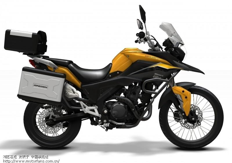 Zongshen RX3, the baby adventure motorcycle | Visordown