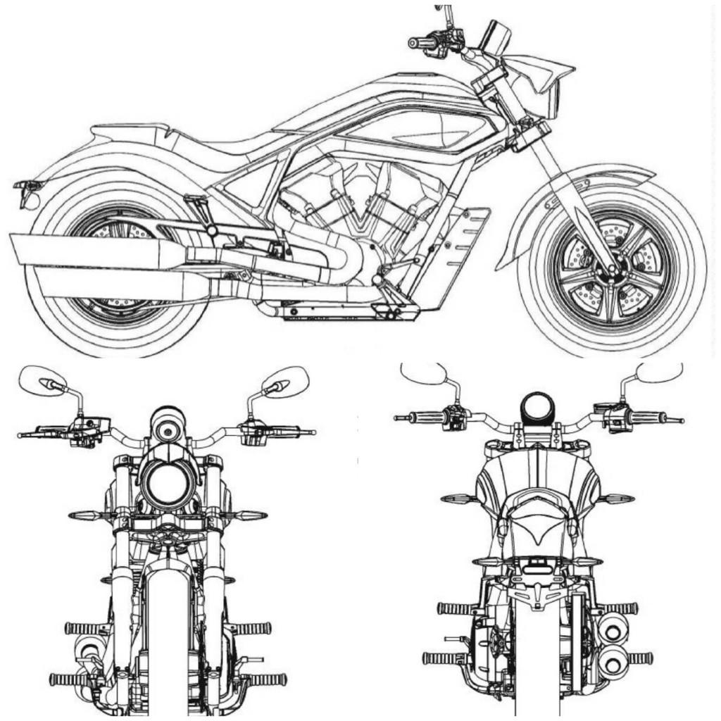 new liquid cooled victories revealed in design sketches visordown Motorcycle Suit design drawings have emerged of four potential new models from american cruiser firm victory each using a liquid cooled engine