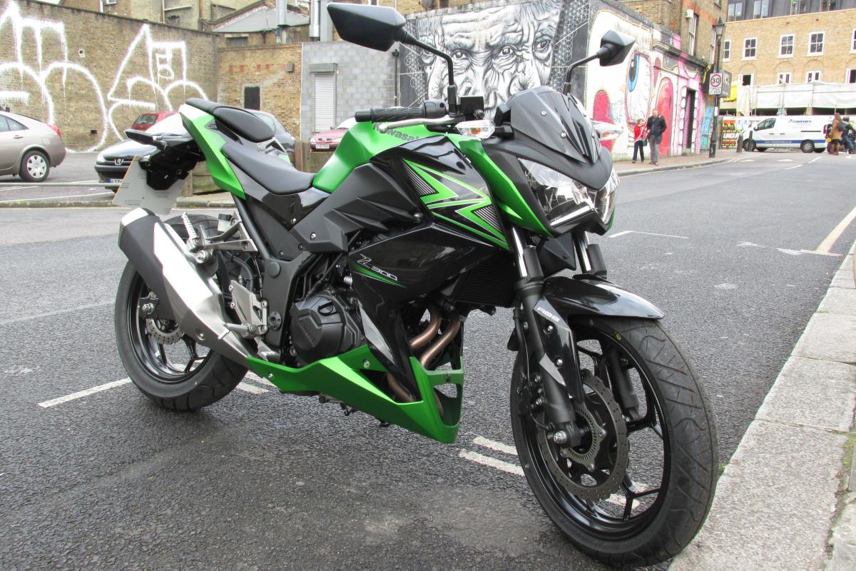 First Ride Kawasaki Z300 Review Visordown