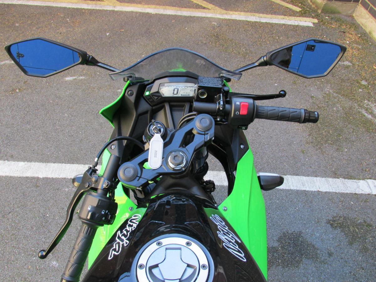 First Ride Kawasaki Ninja 250sl Review Visordown