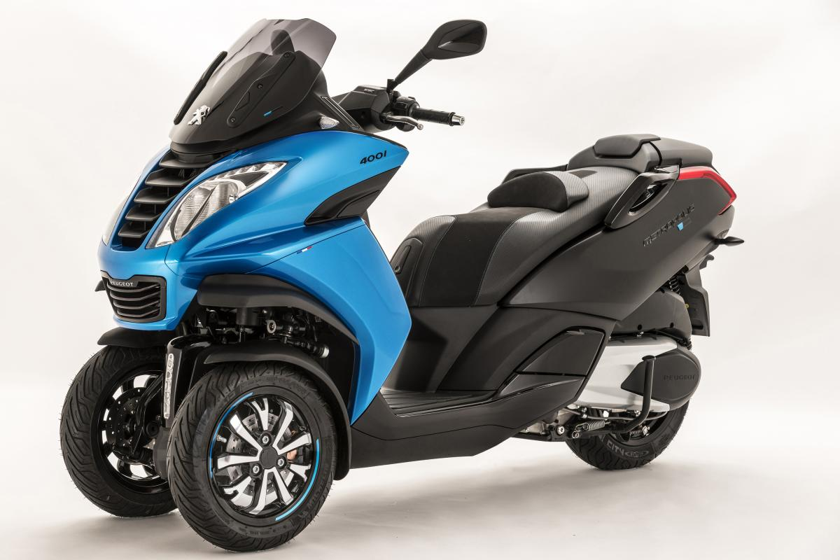 New Special Edition Peugeot Metropolis Blue Line Visordown