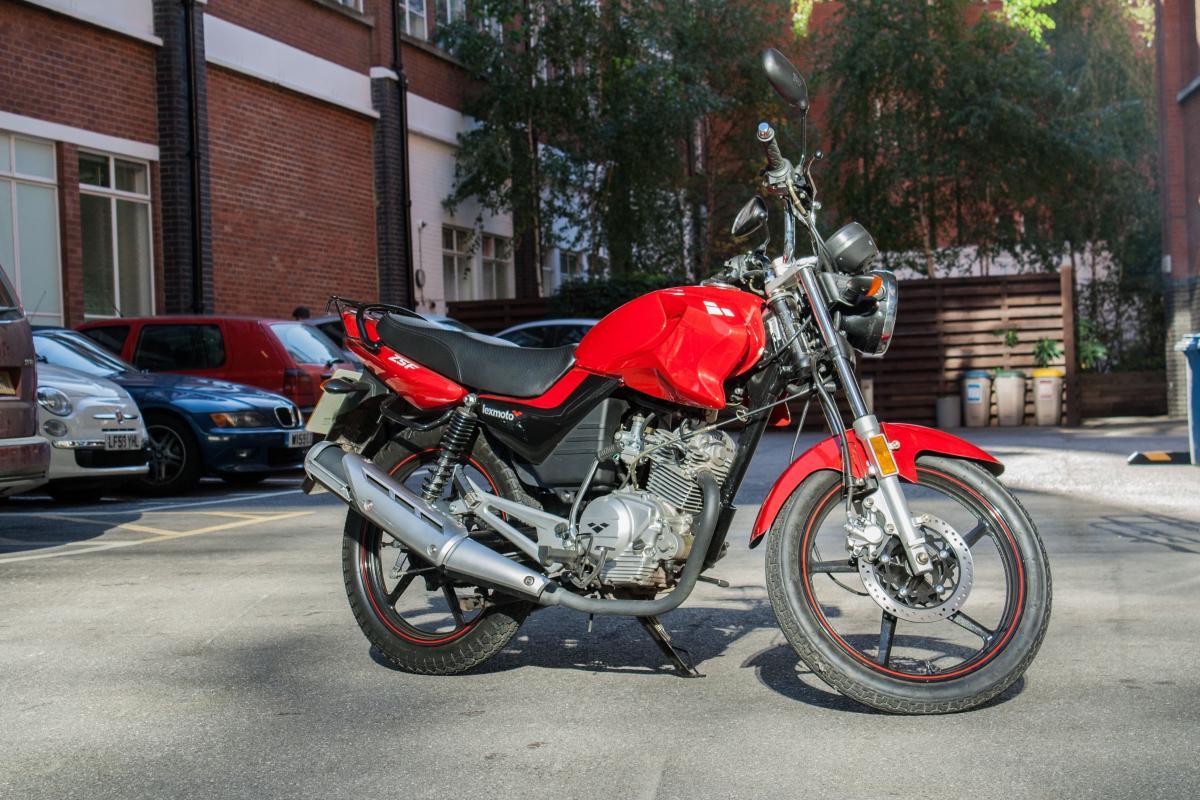 First ride: Lexmoto ZSF 125 review | Visordown