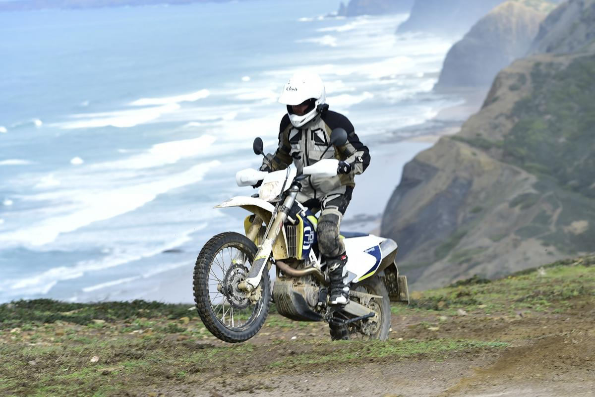 First ride: Husqvarana 701 Enduro review   Visordown
