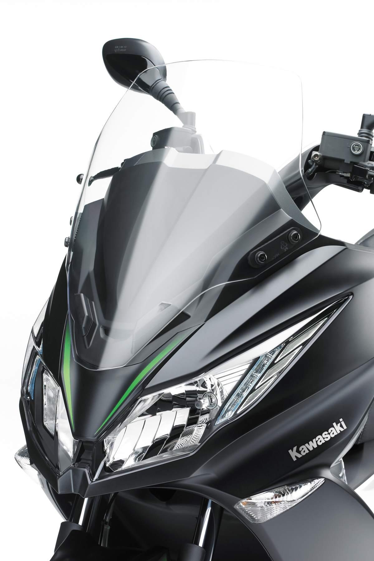 Kawasaki Announces Its First 125cc Scooter The J125 Visordown