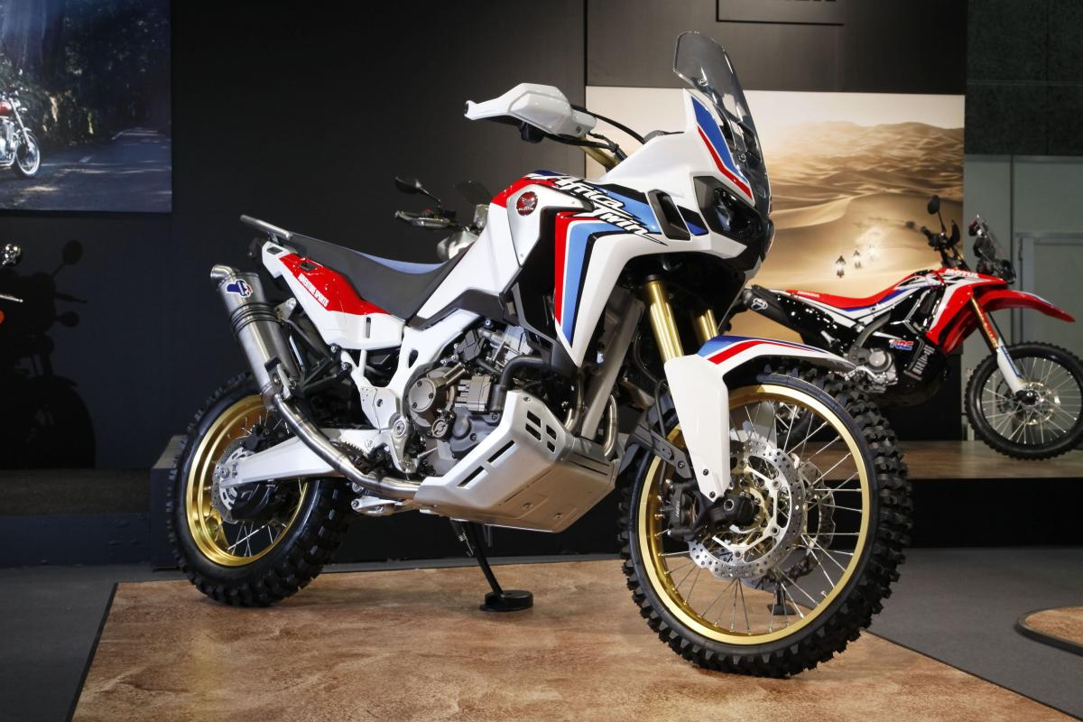 honda reveals africa twin adventure sports concept visordown. Black Bedroom Furniture Sets. Home Design Ideas