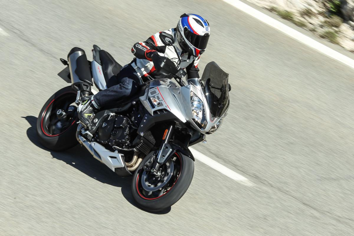 First Ride Triumph Tiger Sport Review Visordown
