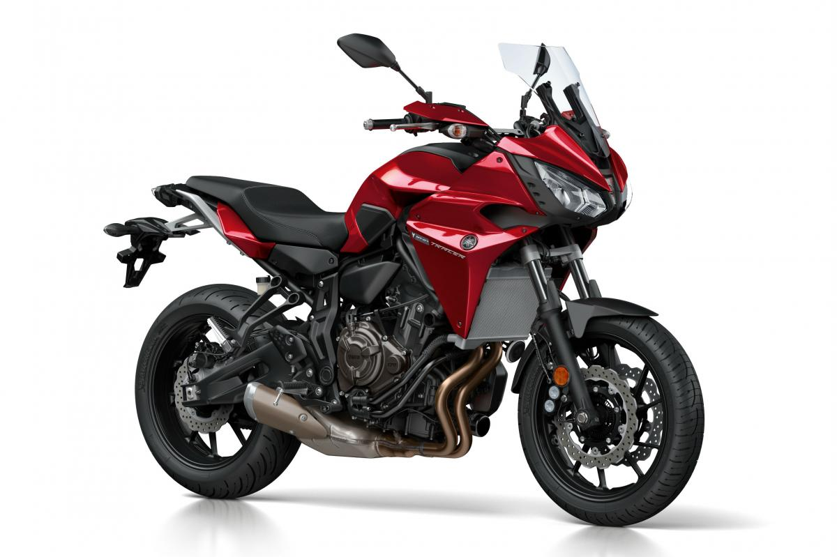 8dd1dfa4644 AS we predicted earlier today, Yamaha has just revealed the new MT-07-based  Tracer model, first seen in spy shots last year.