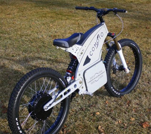 Battery Powered Bicycles >> First Look Comoto Battery Powered Bike Visordown