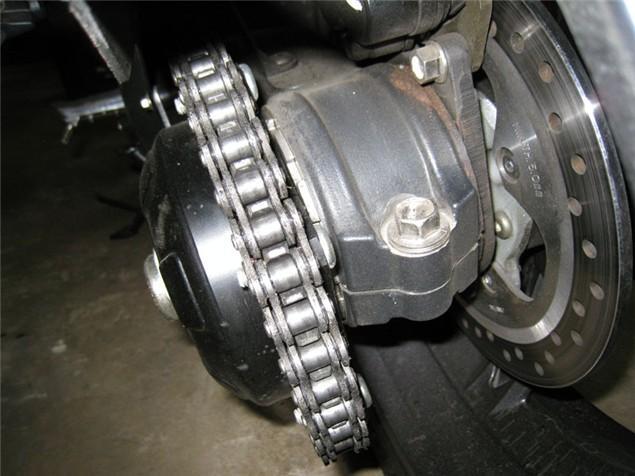 Single Sided Chain Adjustment