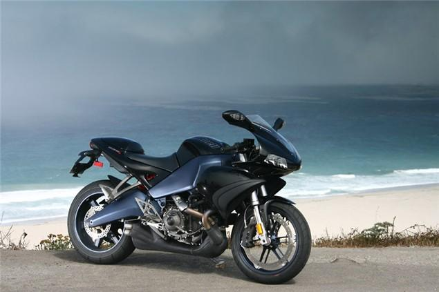 first ride revised buell 1125r visordown