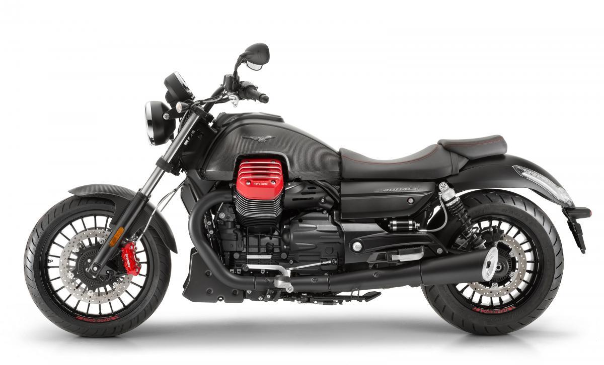 Moto Guzzi introduces the Audace Carbon