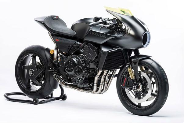 Honda reveals 'CB4 Interceptor Concept' at EICMA