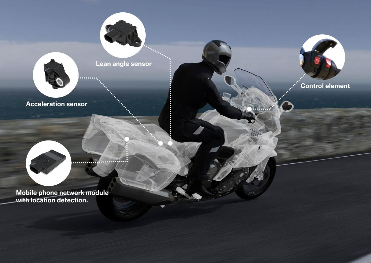 BMW to launch automatic SOS system for bikes