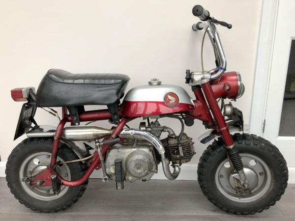 John Lennon's monkey bike expected to fetch £30,000 at auction