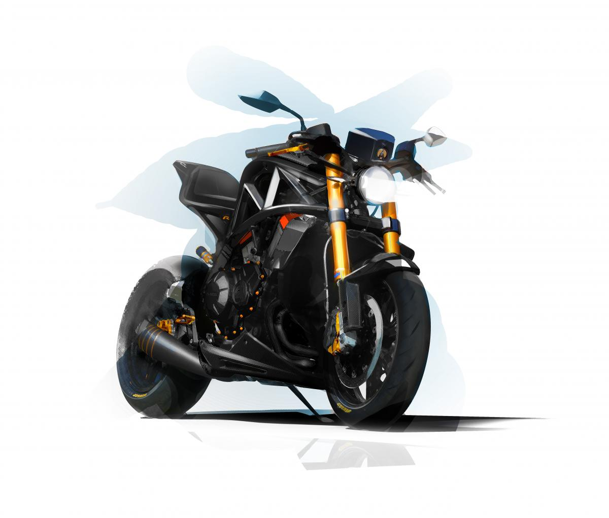 Ariel promises tuned 'R' edition of VFR1200-powered Ace