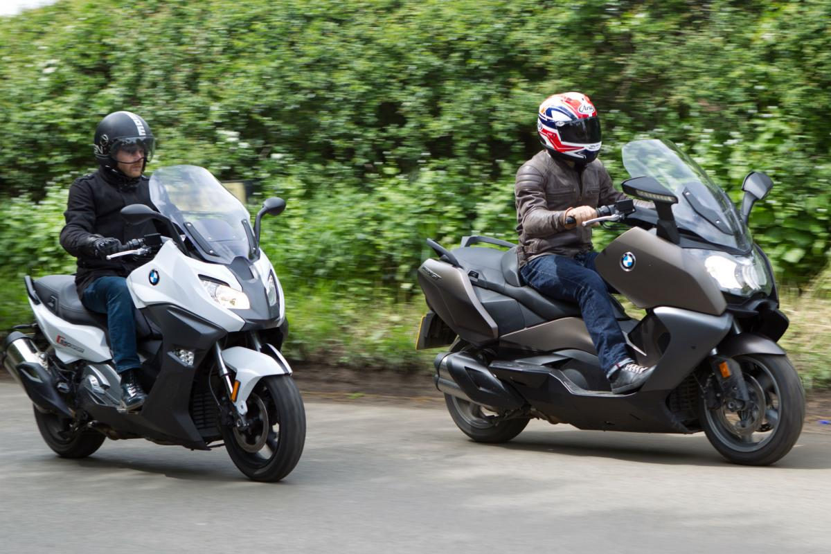 bmw c650 gt and bmw c650 sport review | visordown