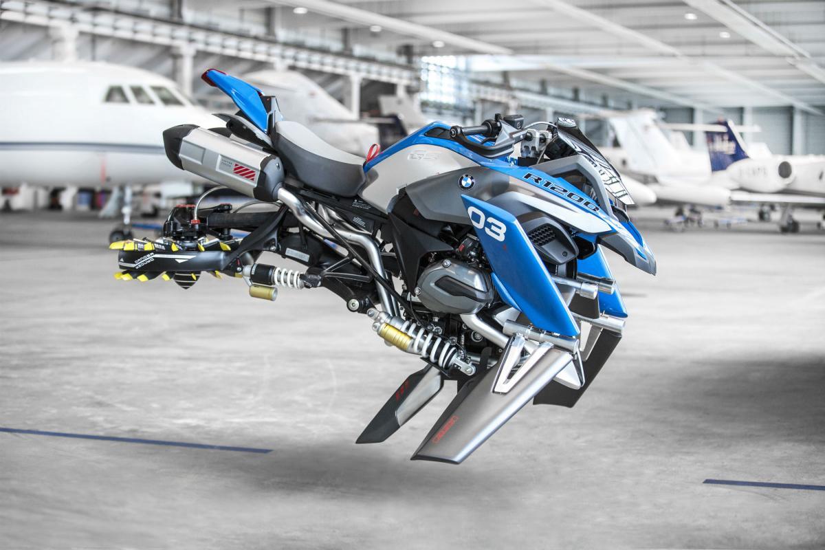 BMW's R1200GS 'hover' bike concept