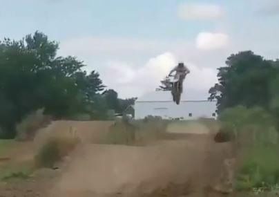 Watch: Motocross mayhem at the dirt-track