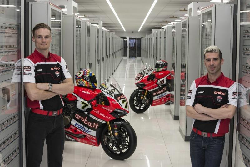 WSBK » Aruba.it Racing Ducati unwrap 2017 challenger