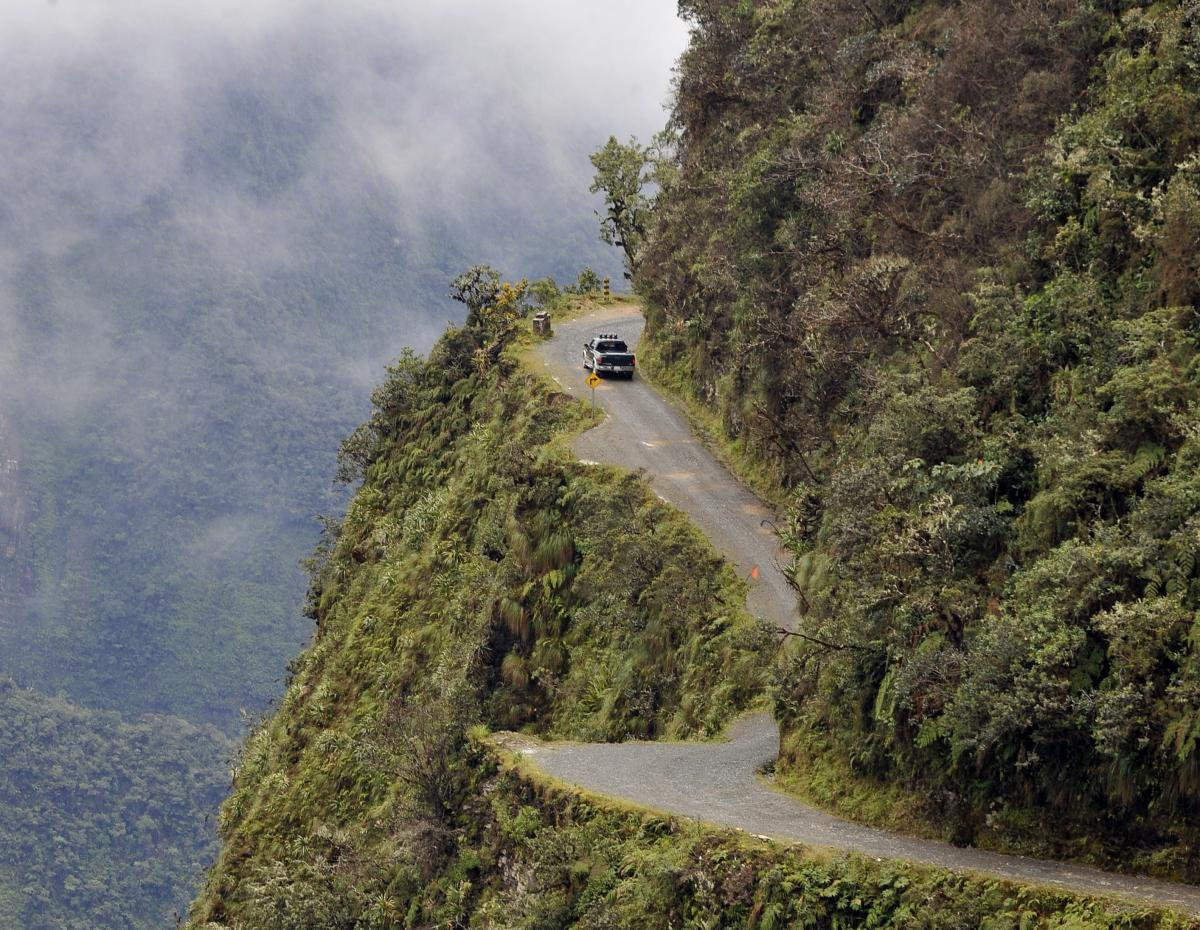 The world's most dangerous road and 9 others you wouldn't want to visit