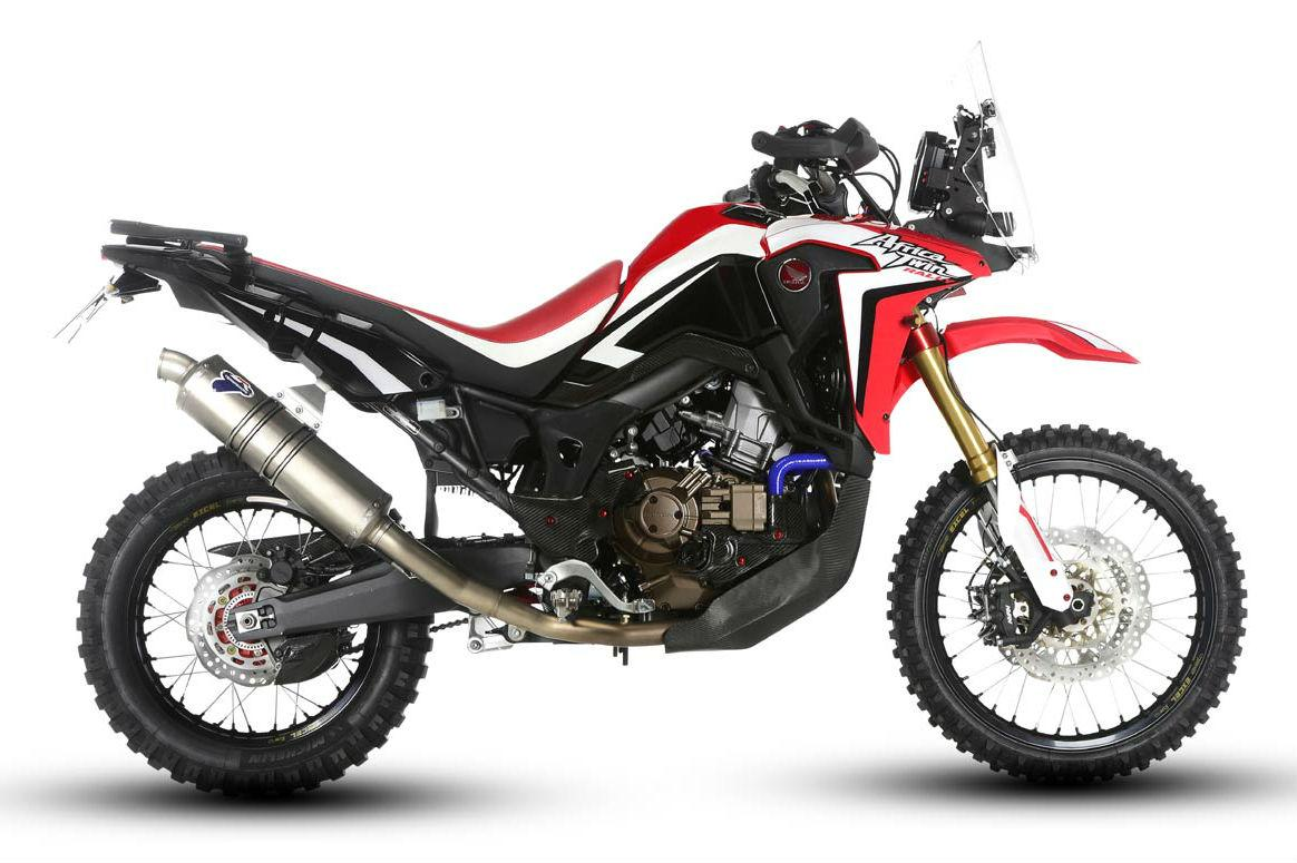 Honda Africa Twin Rally debuts in Italy