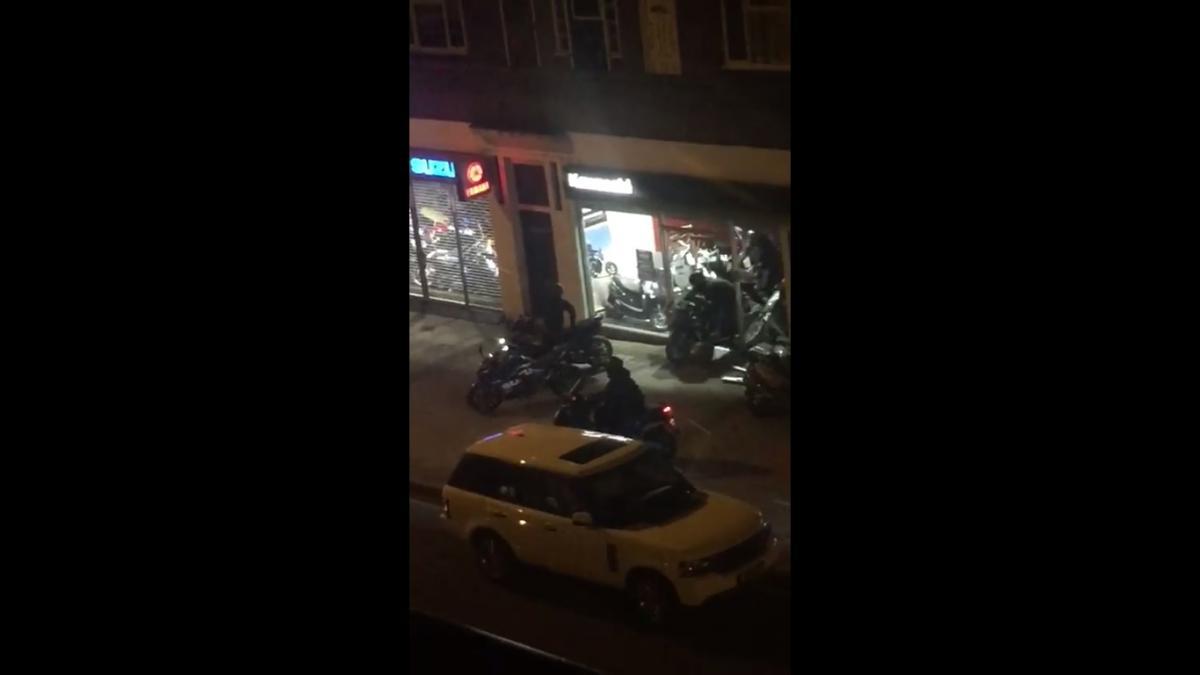 Watch: scooter gang steals £28,000 Kawasaki Ninja H2 Carbon from London dealership