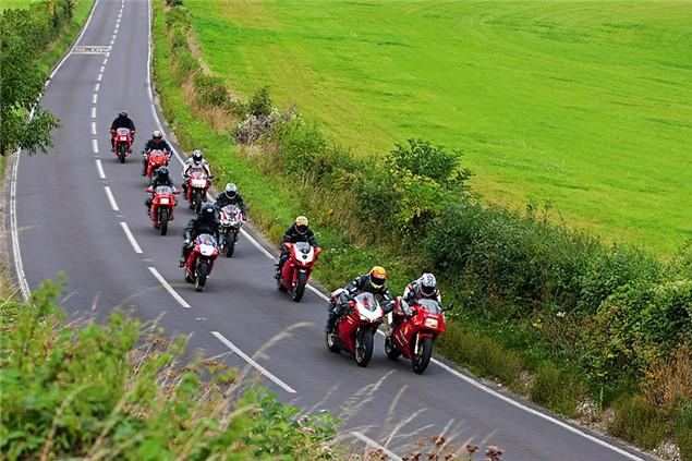Five essential tips for group riding