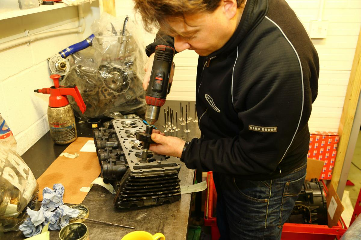 How-to… clean and grind your engine's valves