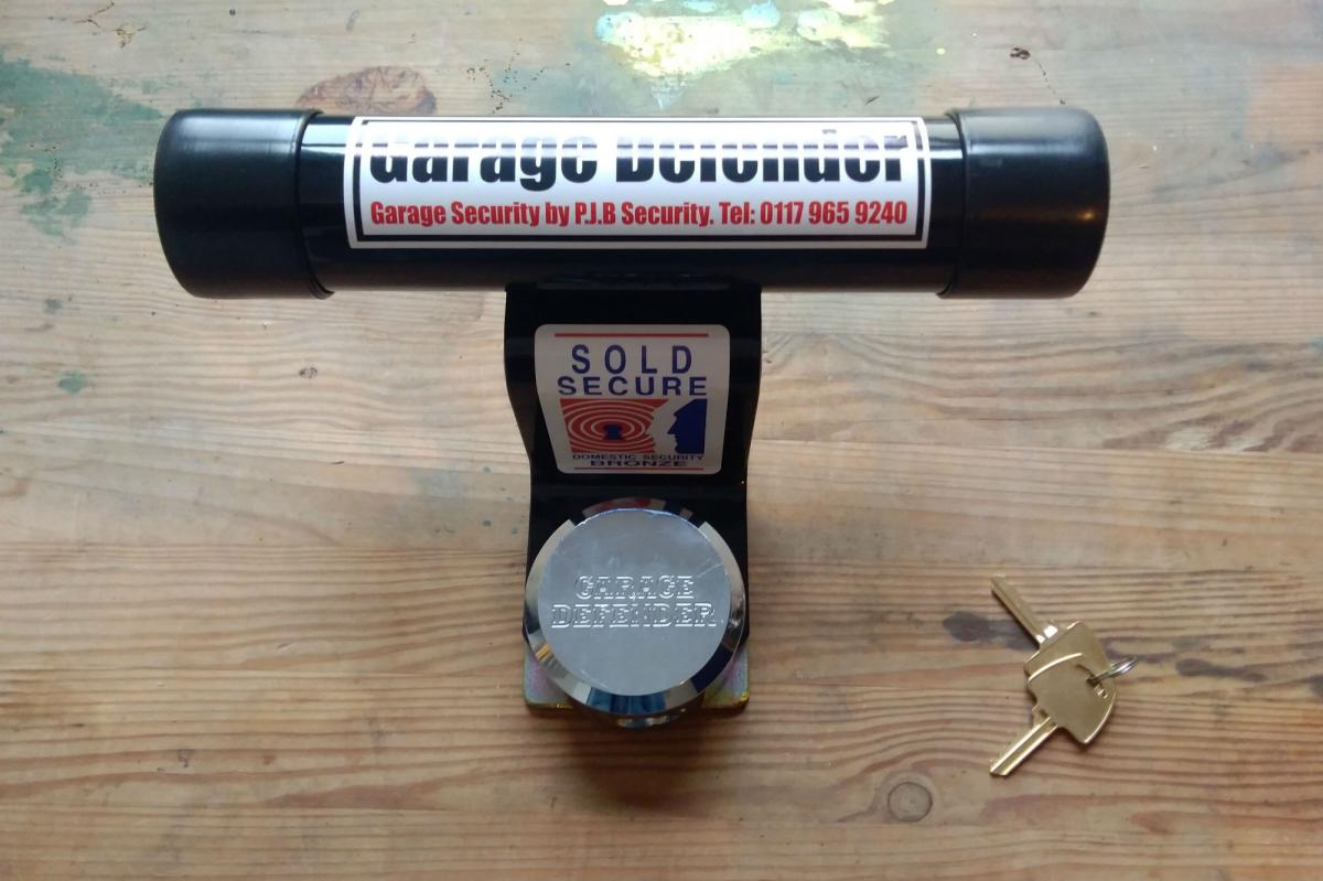 First impressions: PJB 'Garage Defender Master' and padlock, £63.00