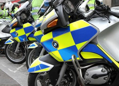 Gloucestershire Police motorcyclists equipped with airbag suits