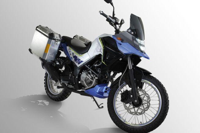 New 200cc SYM adventure bike revealed at Eicma