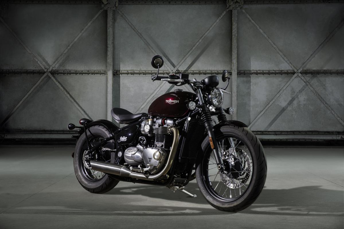Triumph reveals new Bonneville Bobber