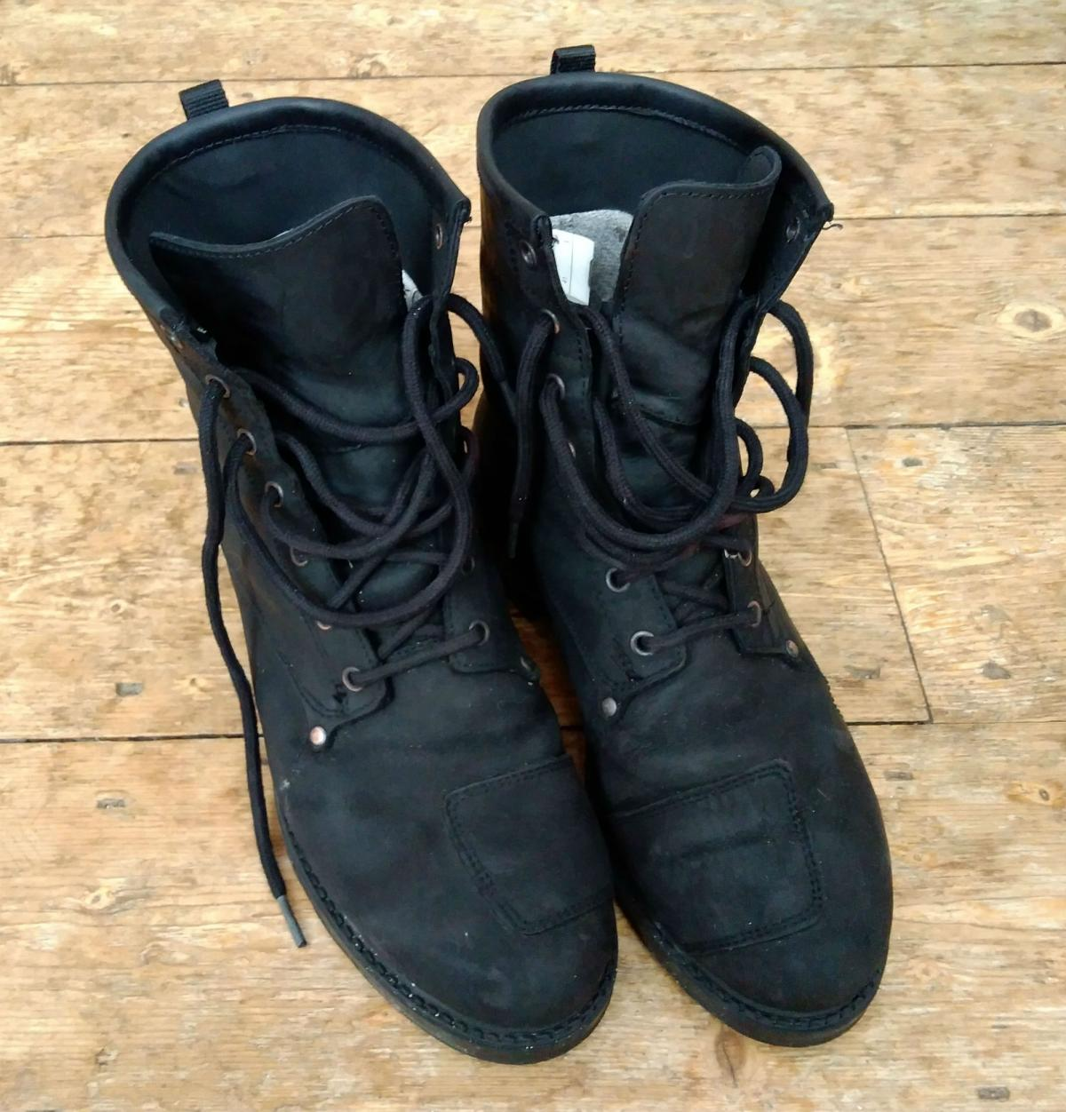 Size 42 Black TCX X-Blend Waterproof Motorcycle Boots