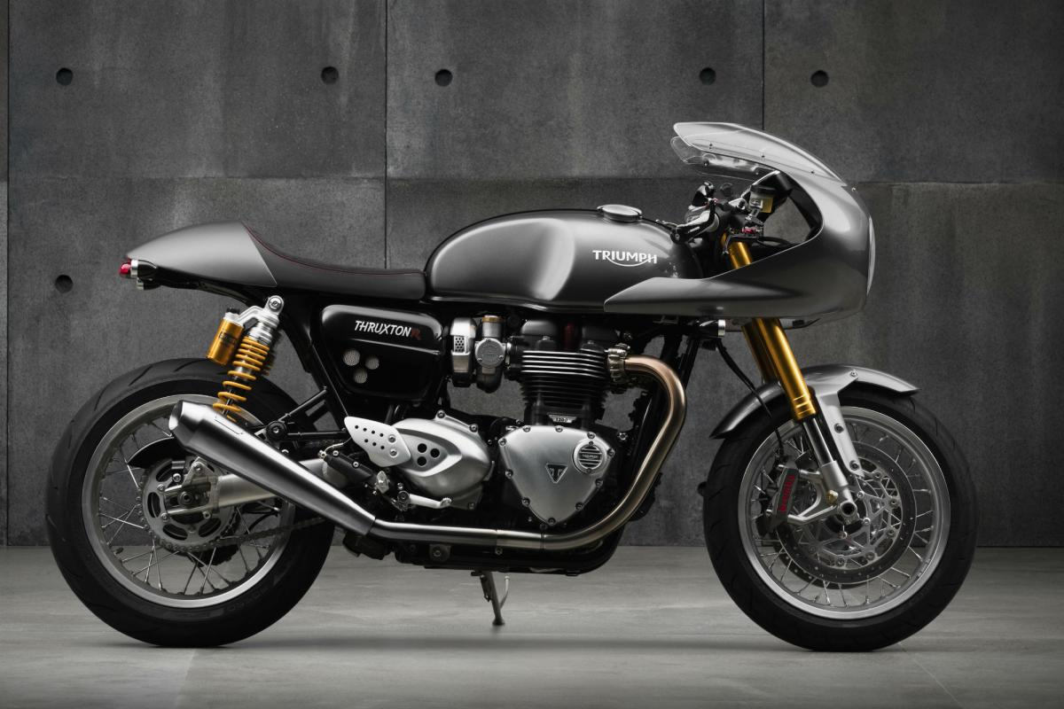 Triumph Cafe Racer >> Triumph Thruxton R Goes Full Cafe Racer For No Extra C Visordown