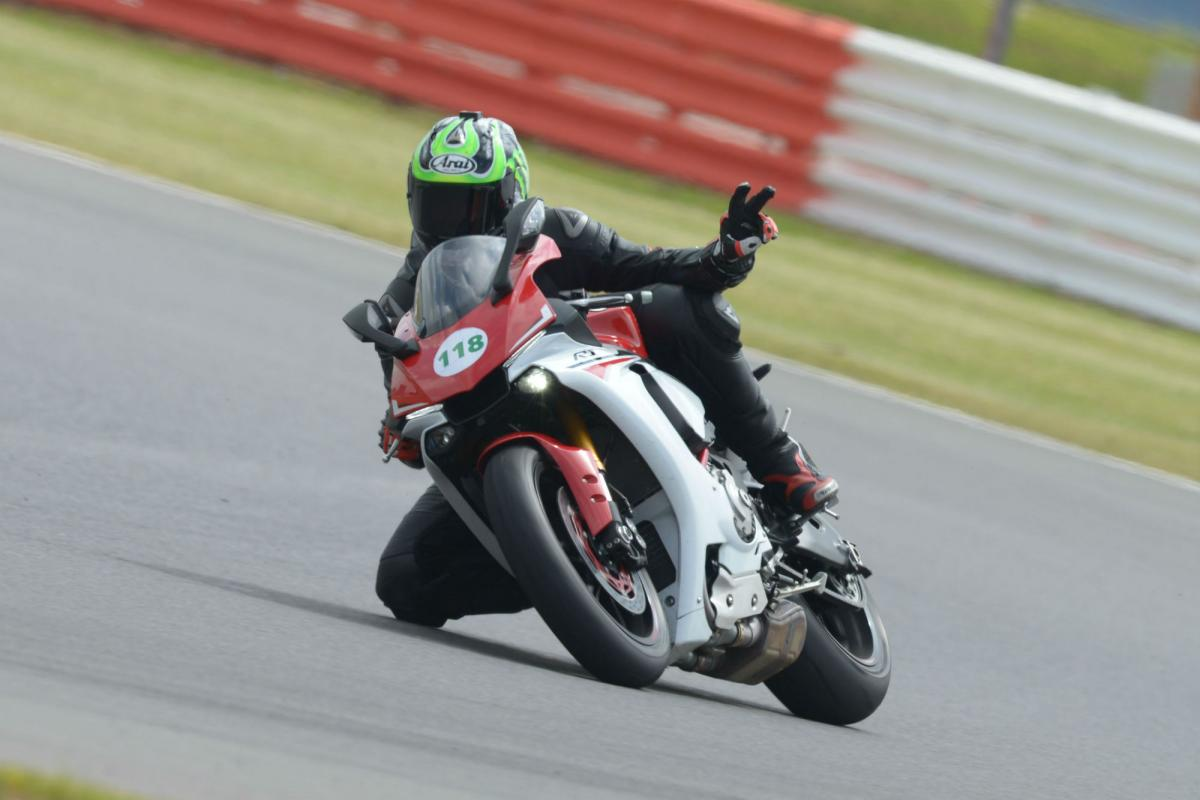 Five tips to help you avoid crashing on a track day - 5