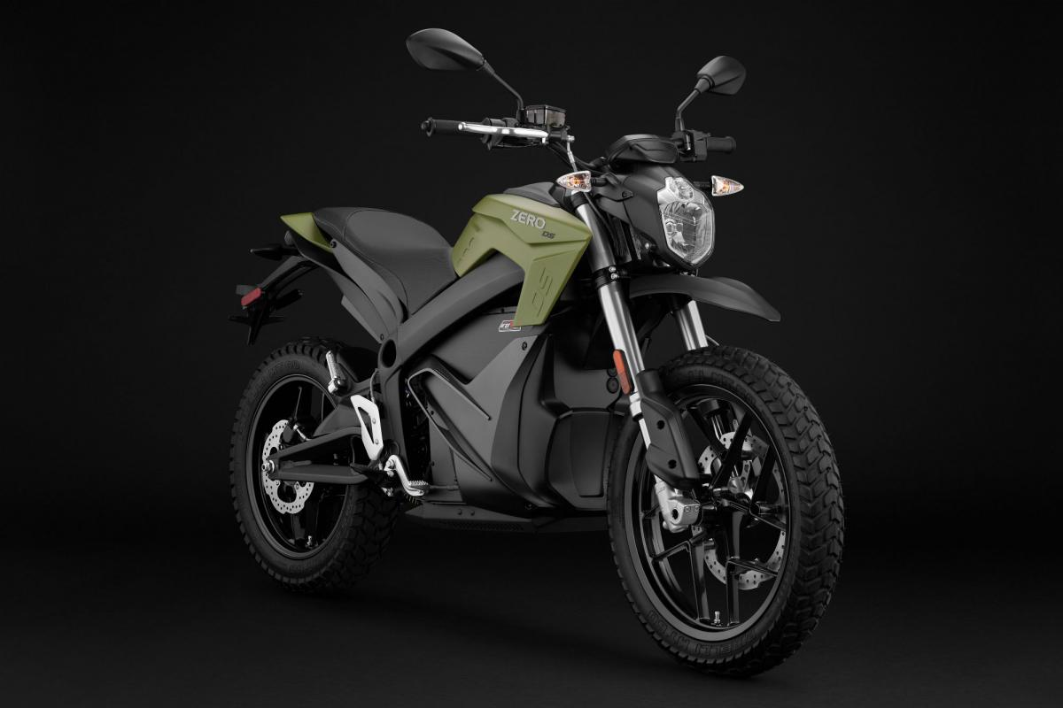 Zero Doubles Range Of Learner Legal Dual Sport Electric Bike