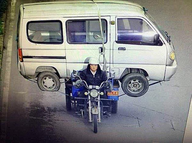 How to… load a motorcycle into a van