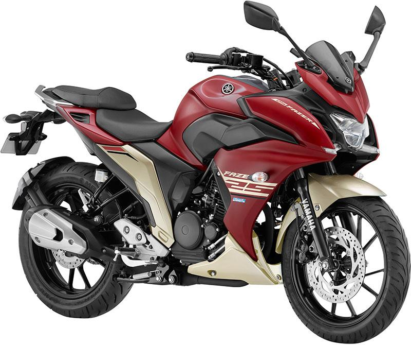 Yamaha launches Fazer25