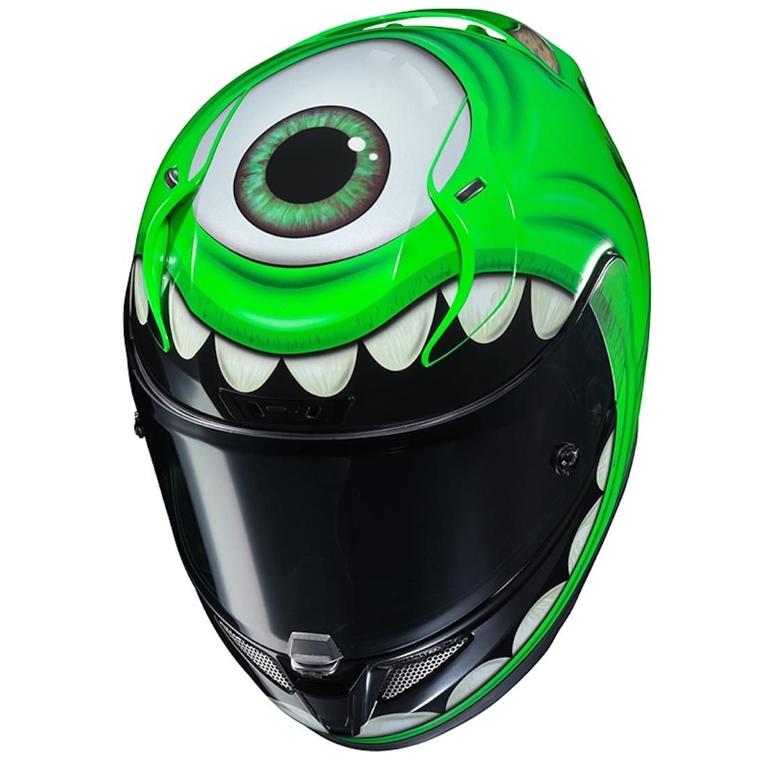 Mike Wazowski Monsters Inc HJC helmet