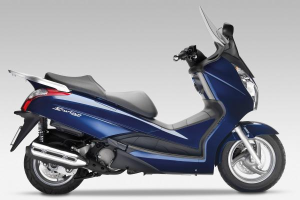 Silver Wing 125