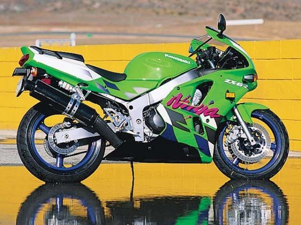 ZX-6R Ninja F1-F3 (1995 - 1997)