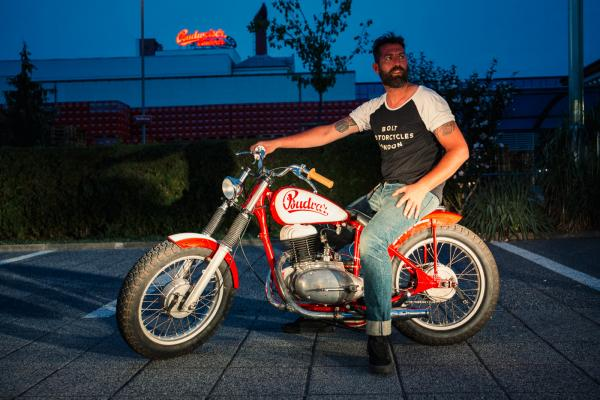 CZ Budvar bike