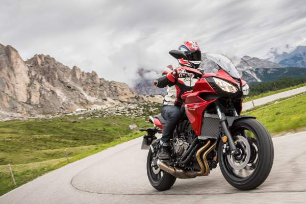 Motorcycle-only speed limits in the Dolomites come into force