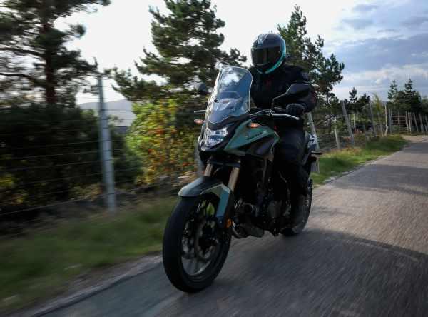 Honda CB500X 2022 a2 adventure review